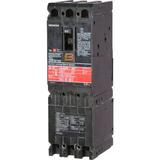 CFD63B080 - Siemens 80 Amp 3 Pole 600 Volt Bolt-On Molded Case Circuit Breaker