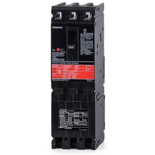 CED63B125 - Siemens 125 Amp 3 Pole 600 Volt Bolt-On Molded Case Circuit Breaker