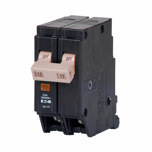 CHF215 - Eaton Cutler-Hammer 15 Amp 2 Pole 240 Volt Plug-In Circuit Breaker