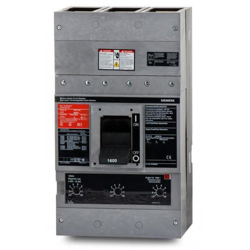 CPD63B160 - Siemens 1600 Amp 3 Pole 600 Volt Bolt-On Molded Case Circuit Breaker