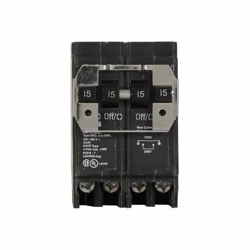 BR215240 - Eaton Cutler-Hammer 40 Amp 2 Pole 240 Volt Plug-In Circuit Breakers