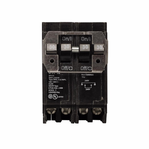BR230230 - Eaton Cutler-Hammer 30 Amp 2 Pole 240 Volt Plug-In Circuit Breakers