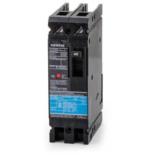 ED42B040 - Siemens 40 Amp 2 Pole 480 Volt Bolt-On Molded Case Circuit Breaker