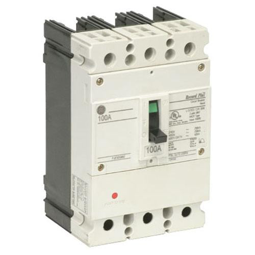 FBV36TE050RV - GE 50 Amp 3 Pole 600 Volt Molded Case Circuit Breaker