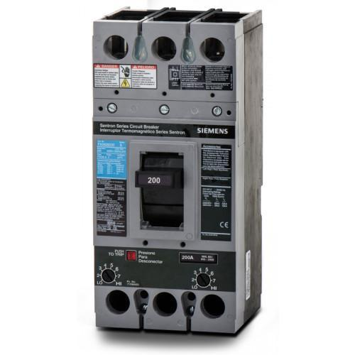 FXD62B200 - Siemens 200 Amp 2 Pole 600 Volt Bolt-On Molded Case Circuit Breaker