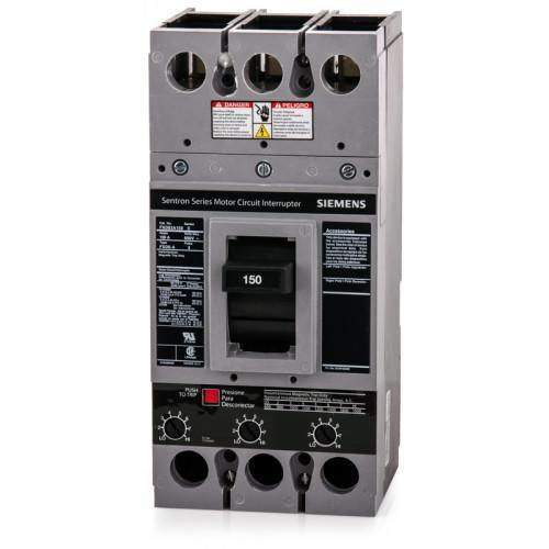 FXD63A150 - Siemens 150 Amp 3 Pole 600 Volt Bolt-On Molded Case Circuit Breaker