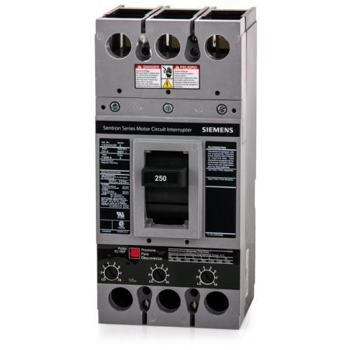 FXD63A250 - Siemens 250 Amp 3 Pole 600 Volt Bolt-On Molded Case Circuit Breaker