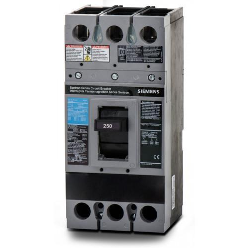 FXD63S250A - Siemens 250 Amp 3 Pole 600 Volt Bolt-On Molded Case Circuit Breaker