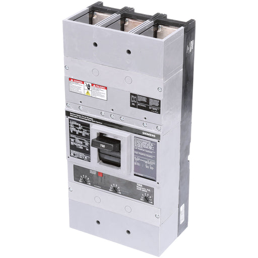 HLMXD63B700 - Siemens 700 Amp 3 Pole 600 Volt Bolt-On Molded Case Circuit Breaker