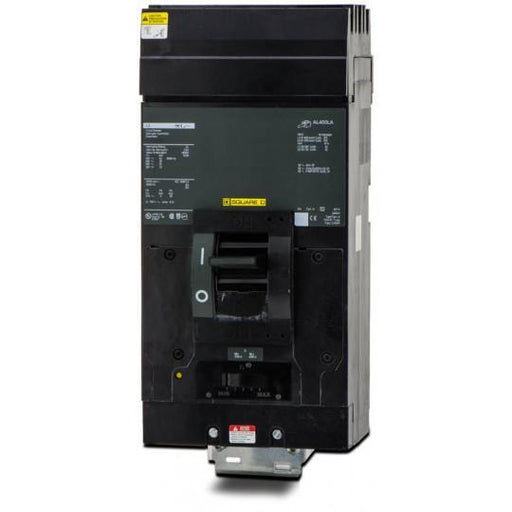 LA36125 - Square D 125 Amp 3 Pole 600 Volt Plug-In Molded Case Circuit Breaker