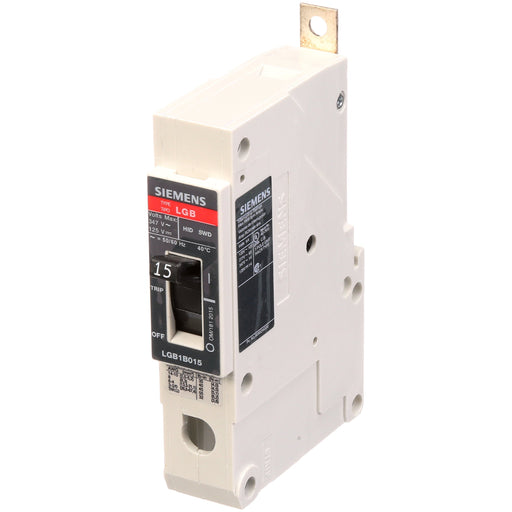 LGB1B015B - Siemens 15 Amp 1 Pole 347 Volt Bolt-On Molded Case Circuit Breaker