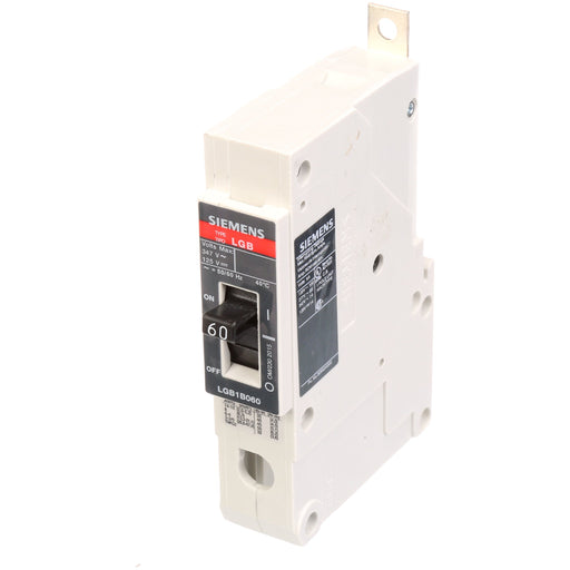 LGB1B060B - Siemens 60 Amp 1 Pole 347 Volt Bolt-On Molded Case Circuit Breaker