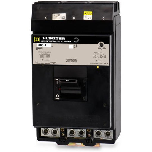 LI36600 - Square D 600 Amp 3 Pole 600 Volt Molded Case Circuit Breaker