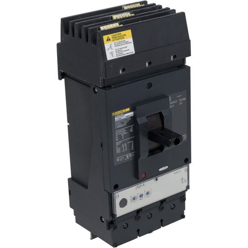LJA36600U33X - Square D 600 Amp 3 Pole 600 Volt Molded Case Circuit Breaker