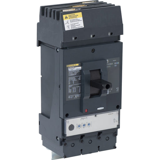 LLA36600U31X - Square D 600 Amp 3 Pole 600 Volt Molded Case Circuit Breaker