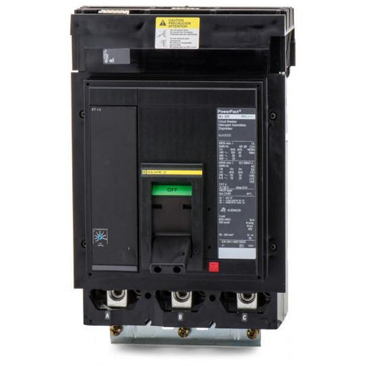MJA36300 - Square D 300 Amp 3 Pole 600 Volt Plug-In Molded Case Circuit Breaker