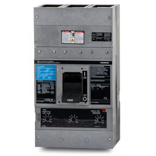 PXD63B160 - Siemens 1600 Amp 3 Pole 600 Volt Bolt-On Molded Case Circuit Breaker
