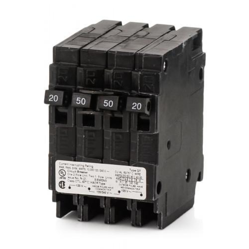 Q22050CT - Siemens 50 Amp 2 Pole 240 Volt Plug-In Molded Case Circuit Breaker