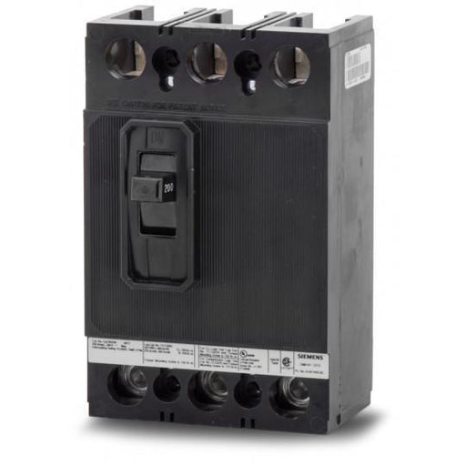QJ23B200H - Siemens 200 Amp 3 Pole 240 Volt Bolt-On Molded Case Circuit Breaker