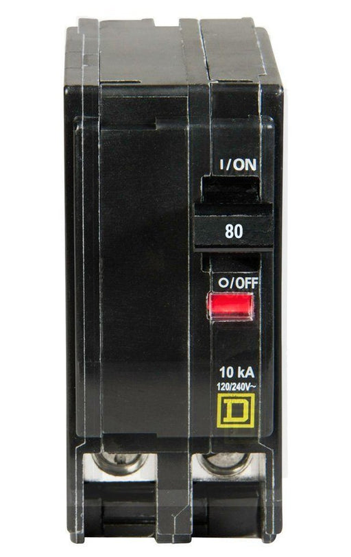QO280 - Square D 80 Amp Double Pole Circuit Breaker
