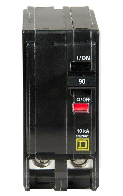 QO290 - Square D 90 Amp Double Pole Circuit Breaker