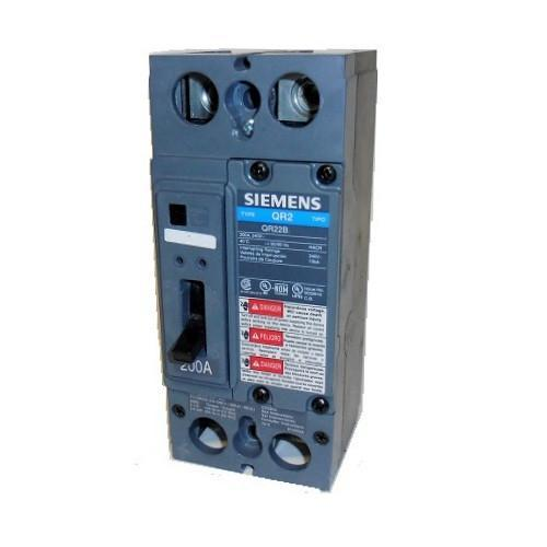 SIEMENS QR22B200 2 Pole 200 Amp QR2 Circuit Breaker New No Box