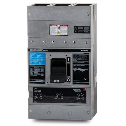 RD63F200 - Siemens 2000 Amp 3 Pole 600 Volt Bolt-On Molded Case Circuit Breaker