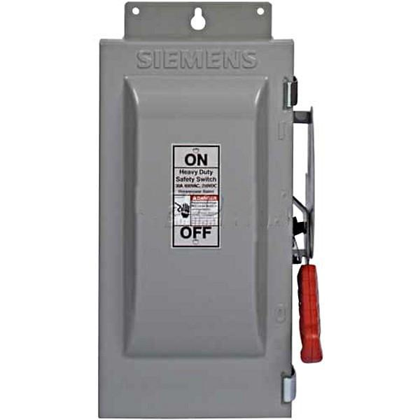 HFC361 - Siemens 30 Amp 3 Pole 600 Volt Circuit Breaker Heavy Duty Switch