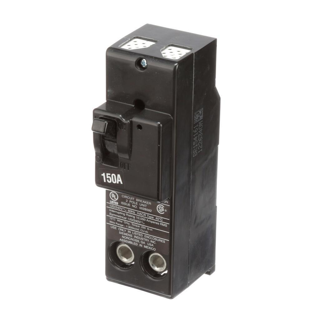 QN2150 - Siemens 150 Amp 2 Pole 240 Volt Molded Case Circuit Breaker