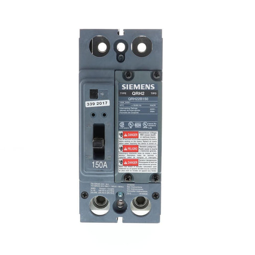 QRH22B150 - Siemens 150 Amp 2 Pole 240 Volt Bolt-On Molded Case Circuit Breaker