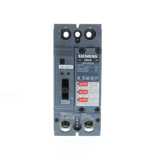 QRH22B225 - Siemens 225 Amp 2 Pole 240 Volt Bolt-On Molded Case Circuit Breaker