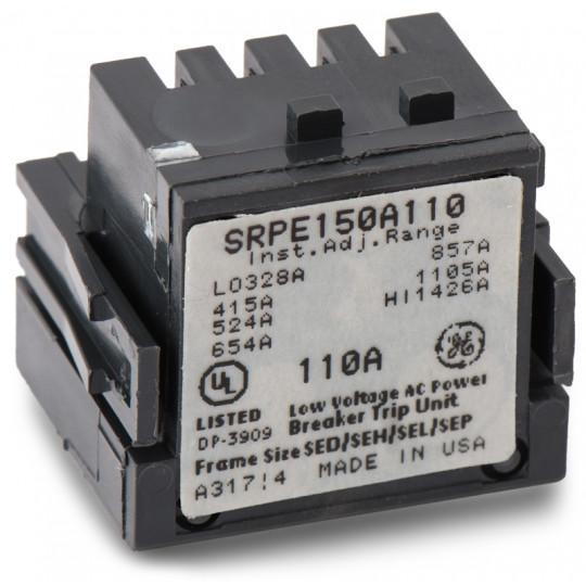SRPE150A110 - GE 110 Amp 3 Pole Molded Case Circuit Breaker Rating Plug