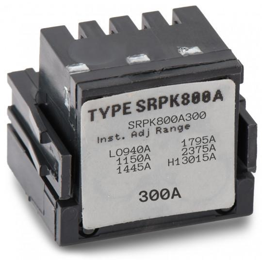 SRPK800A300 - GE 300 Amp 3 Pole 600 Volt Molded Case Circuit Breaker Rating Plug