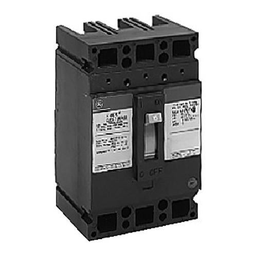 TED134045WL - GE 45 Amp 3 Pole 480 Volt Molded Case Thermal Magnetic Circuit Breaker