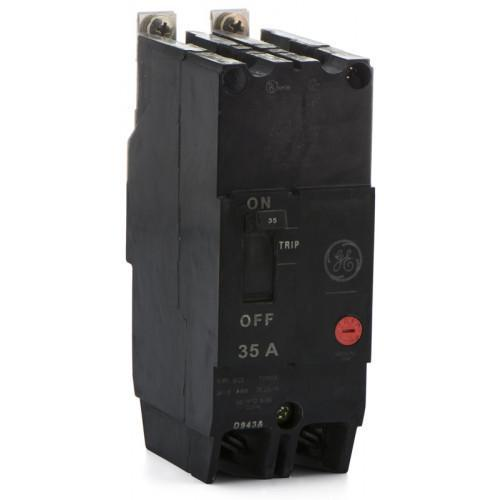TEY235 - GE 35 Amp 2 Pole 480 Volt Bolt-On Molded Case Circuit Breaker