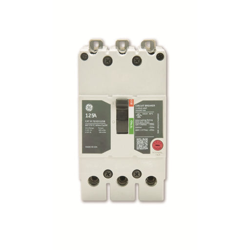 TEYD3045B - GE 45 Amp 3 Pole 480 Volt Bolt-On Molded Case Circuit Breaker