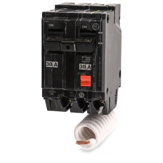 THQL2130GFT - GE 30 Amp 2 Pole 240 Volt Molded Case Circuit Breaker
