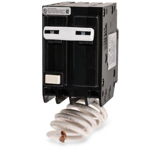 THQL2150GFT - GE 50 Amp 2 Pole 240 Volt Molded Case Circuit Breaker