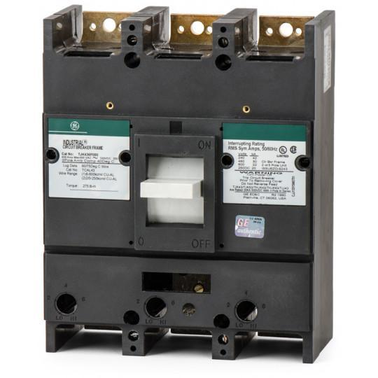 TJK436F000 - GE 400 Amp 3 Pole 600 Volt Molded Case Circuit Breaker
