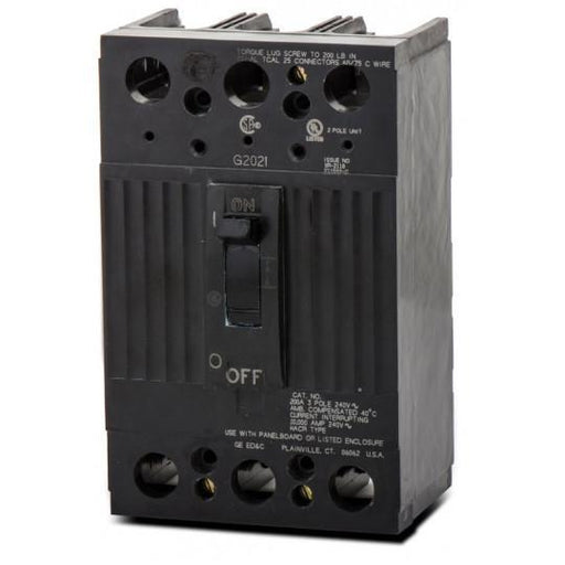 TQD32125WL - GE 125 Amp 3 Pole 240 Volt Molded Case Circuit Breaker