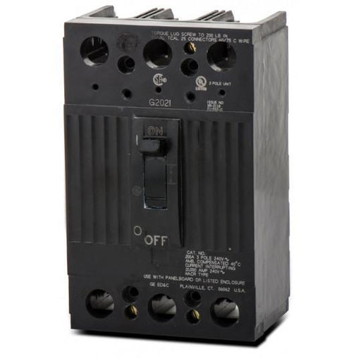 TQD32150WL - GE 150 Amp 3 Pole 240 Volt Molded Case Circuit Breaker