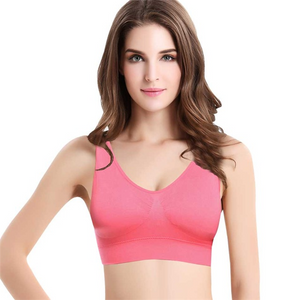 2018 Hot Selling TV Products-Comfortable Seamless Wireless Bra-Clothes & Accessories-airvog.com-PINK-S-airvog