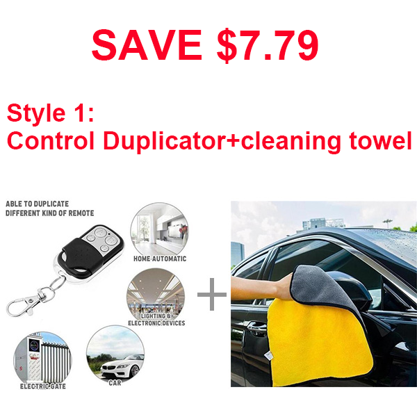 Wireless Remote Control Duplicator-Home & Garden-airvog.com-Style 1: cleaning towel+ Control Duplicator(SAVE $7.79)-airvog