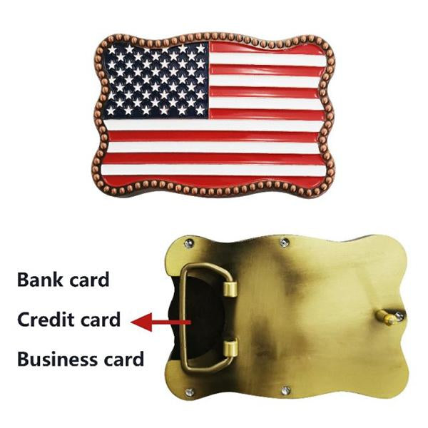 【New Fashion New Technology】Credit Card Belt Buckle