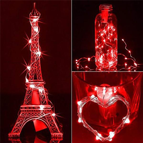 DIY Bottle Lights Artwork Unique Handcrafts-Home & Garden-airvog.com-RED-airvog