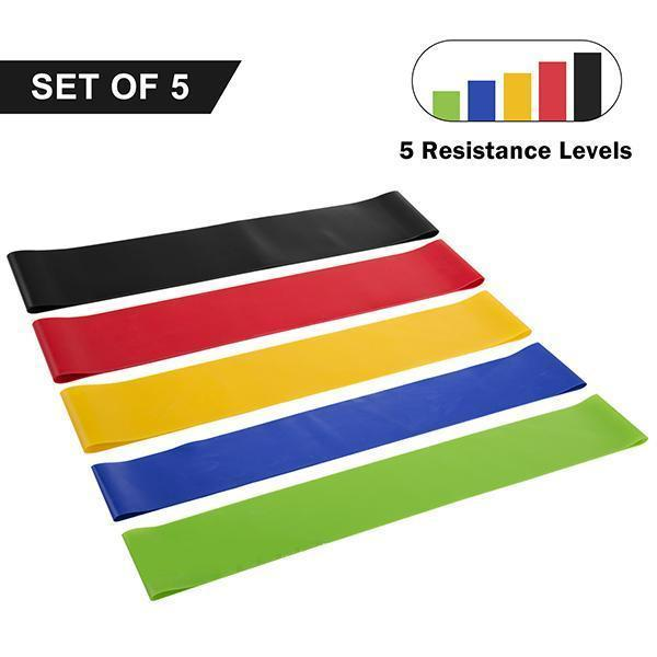 Fit Simplify Resistance Loop Exercise Bands-Outdoors & Sports-ggfeelings.com-Colorful-