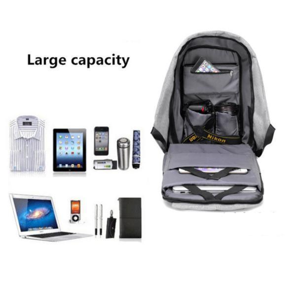 Multifunctional Anti-theft Backpack-Home & Garden-airvog.com-Gray Backpack-airvog