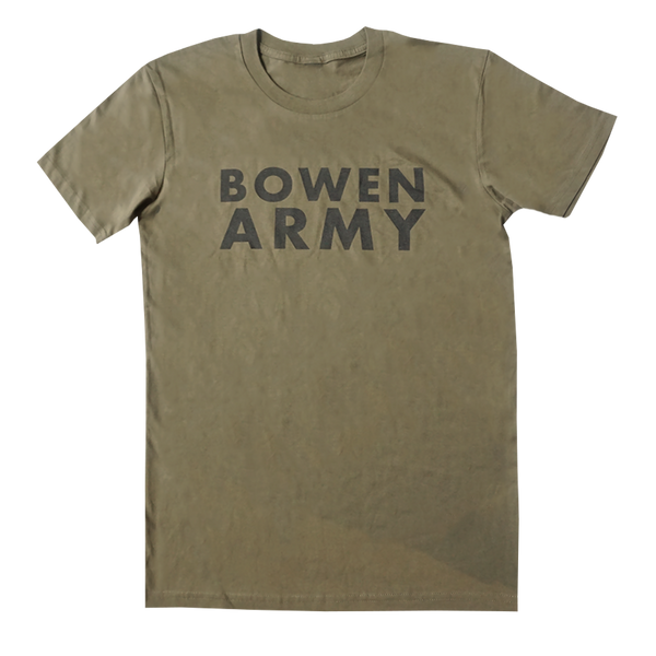Bowen Army Tee (Olive Green)