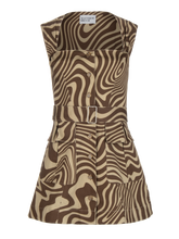 Load image into Gallery viewer, Apron Cargo Twill Mini Dress