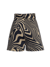 Load image into Gallery viewer, Pleated Cotton Twill Short